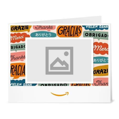 Amazon Gift Card - Upload Your Photo (Print) - Global Thanks