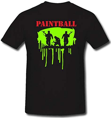 Gr. XXL - Sale Shirt Vm68 Paintball Wargames Scenario Splatmaster Sharidan #R911, Größe:XXL, Farbe:Schwarz