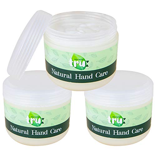 Tru Natural Hand Cream 300g (3x 100g) Soothing Hand Cream for All Skin Types by Skincare Expert
