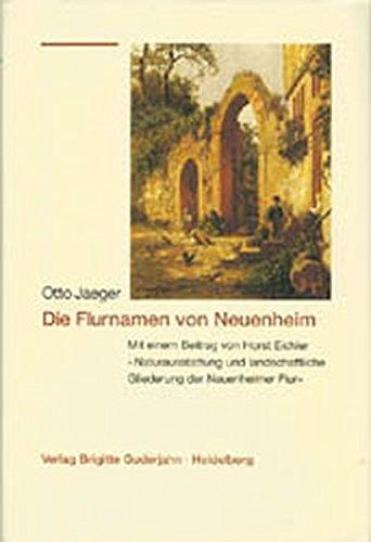 Die Flurnamen von Neuenheim