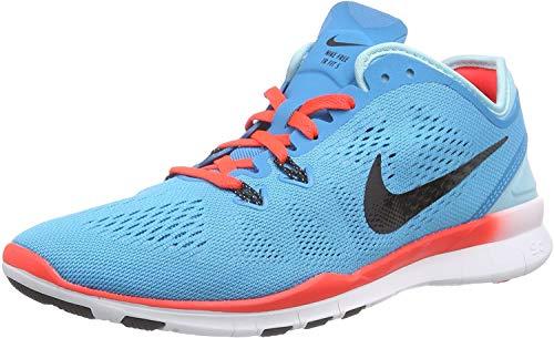 Nike Damen Wmns Free 5.0 TR FIT Hallenschuhe, Blau (Blau;schwarz;pink), 38 EU