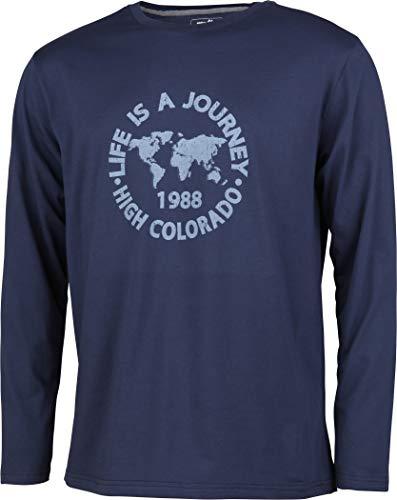 High Colorado Wallis 3 2018 T-Shirt à Manches Longues pour Homme Bleu foncé M Bleu foncé