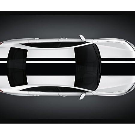 Mydruck Store Viperstreifen 14 X 200 Cm Rallystreifen Rennstreifen Autoaufkleber Viper 2n003 Farbe Schwarz Matt Viper Größe 14cm X 200cm Küche Haushalt