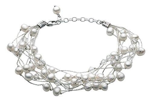 Dew - Bracciale da donna, argento sterling 925, 208 mm
