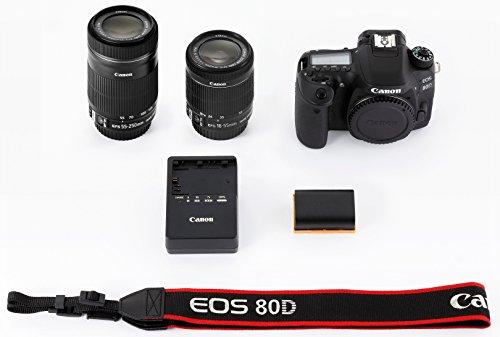 キヤノン『EOS80D(W)・ダブルズームキット』