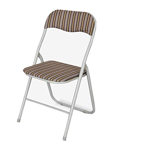 HFJKD Folding Cloth Chair Garden Table and Chairs Strong Steel Event Hall Seating Or Temporary Seat for Guests and Desks