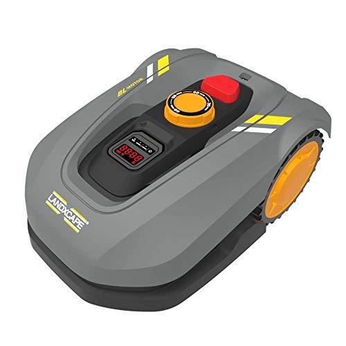 LandXcape LX795 - Robot cortacésped con batería para jardines de hasta 700 m², cortacésped automático, color gris