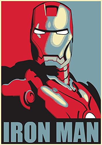 Poster IronMan - Poster Marvel 38 cm x 58 cm (380 mm x 580 mm)