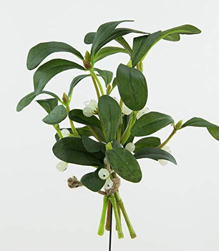 Seidenblumen Roß Mistelbund 20x18cm DP Kunstblumen Kunstpflanzen künstliche Blumen Pflanzen Mistel