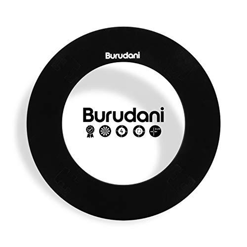 Burudani Dart Auffangring | Hochwertiger Dart Surround [3cm] Wandschutz | Ideale Passform für alle Standard Dartscheiben | [13cm] Extra Schutz