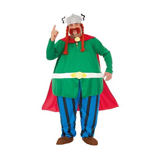 Chaks Disfraz de Abraracourcix con licencia oficial de 6 piezas