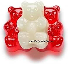 Albanese Gummi Bears Red & White Valentine, 1 Lb