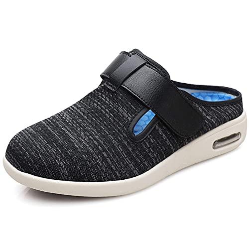 DXDUI Zapatillas Zapatos Casuales con Velcro Señoras Sandalias Cerradas...