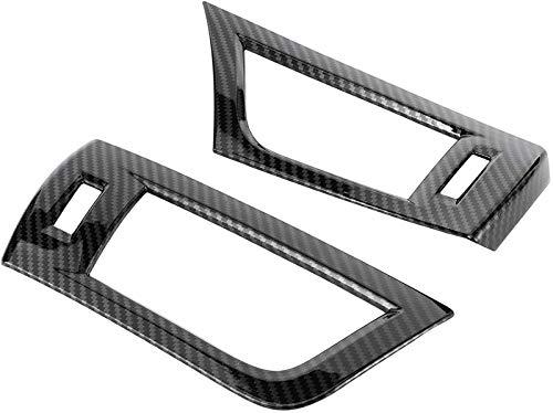 『Alphard 2016□201 2PCSフロントサイドエアベントアウトレットトリムカーボンファイバースタイルインテリアの装飾』の5枚目の画像