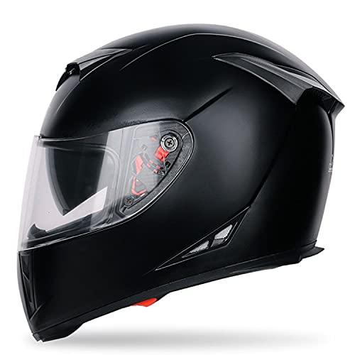 Casco de Moto Integrado Bluetooth, Modular Casco de Moto, Cascos abatibles, Cascos modulares, con lente doble antivaho, Intercomunicador por radio, para adultos, mujeres y hombres, certific(Color:J,Si