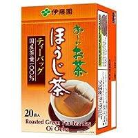伊藤園 お~いお茶 ほうじ茶 ティーバッグ 20袋入×20袋入×(2ケース)