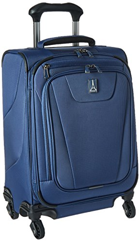 Travelpro Maxlite 4-Softside Expandable Luggage with Spinner Wheels, Blue