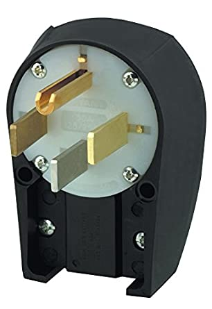 50A 125//250V 2 Available 4-Wire Hubbell Bryant 9452ANP Plug 3-Pole