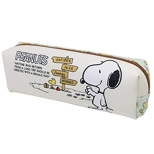 Snoopy Pencil Long Pouch/Woodstock Peanut Pen Case Character Goods