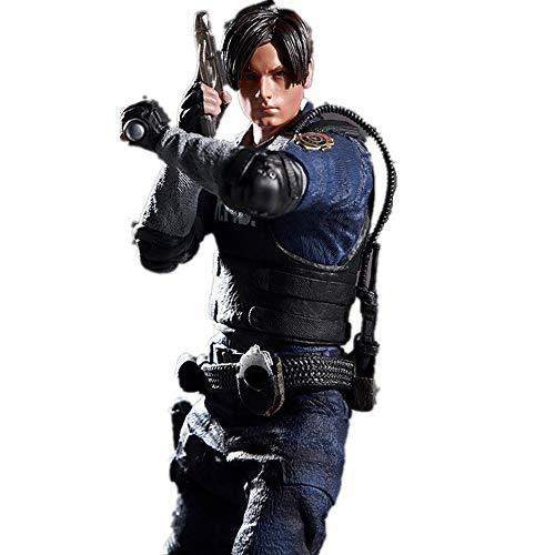 Jaypar Nouveau Resident Evil Figure Leon Figure Action Figure 1/6 Échelle