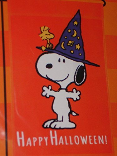 Peanuts Snoopy Happy Halloween Flag New 2015 Release!
