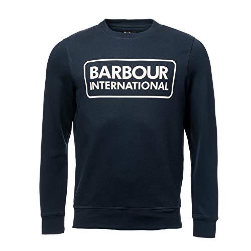 Barbour International Large Logo Sweatshirt Navy-XL