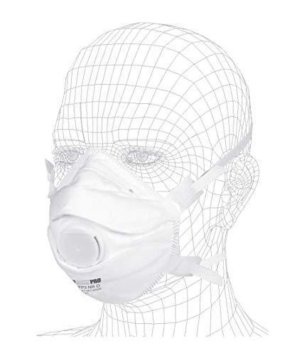 Atemschutzmaske FFP3 (10 STK.) | Atemschutz gegen Partikel, Feinstaub & Pilzsporen | Atemmaske mit zuverlässigem Schutz, leichtes Atmen und optimalem Sitz | Einweg Staub-Maske von SOLIDMAXX