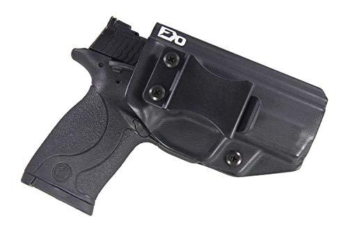 Fierce Defender IWB Kydex Holster S&W MP 22 Compact The Winter Warrior Series -Made in USA- (Black)