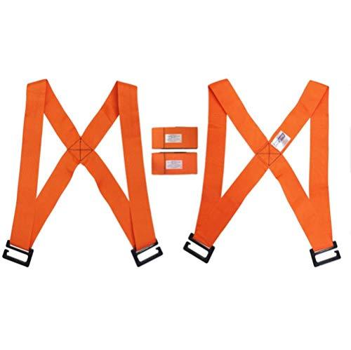 LLAAIT Onderarm Heftruck Lifting Bewegende Band Transport Riem Polsbanden Meubilair Voor Thuis Verplaatsen Huis Handige Gereedschap buckle color random