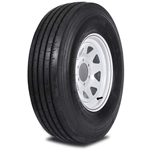 Mastertrack UN-ALL STEEL ST235/85R16 132/127L G Rated 14 Ply Deep Thread Heavy Duty Special Trailer (ST) Tire (Tire Only)