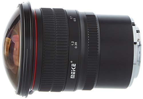 Meike Optics MK-00835CM MK 8mm f3.5Objetivo Ojo de pez de Ultra Gran Angular para Canon M