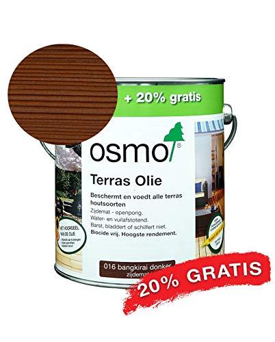 Bankirai Olie 016 Donker 3l ACTIE Bankrai Olie voor oppervlak bestand tegen weer en wind