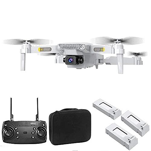 J-Clock Drone cuadricóptero, dron Plegable WiFi con 120 Grados; ángulo Amplio, cuadricóptero RC HJ15, retención altitud, Control Aplicaciones, Retorno una tecla, Modo sin Cabeza