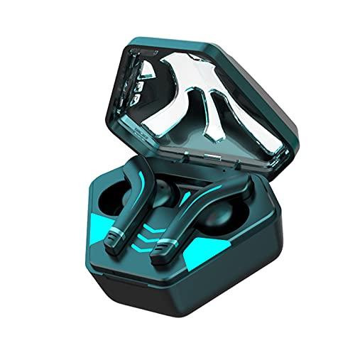 Auriculares Inalambricos Deportivos, 【Super Juego + Auriculares Deportivos】 Auriculares Bluetooth 5.1 IP7 Impermeable Running Auriculares, Cascos Inhalabricos Correr Micrófono Caja de Carga