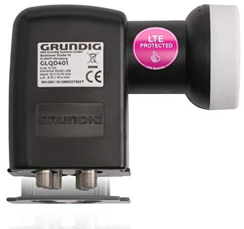 GRUNDIG Quad LNB-Digital, 4 Teilnehmer mit...
