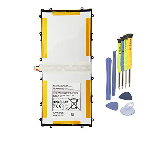 ANTIEE 9000mAh SP3496A8H (1S2P) Tablet Batería del Ordenador Portátil para Samsung Google Nexus 10 N10 Table PC GT-P8110 P8110 HA32ARB HA32ARB with Tools