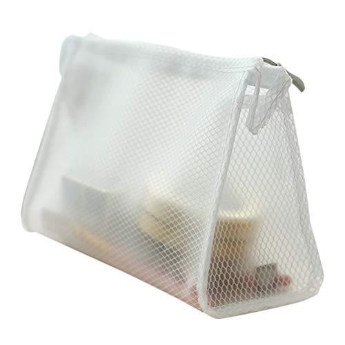 1 PC EVA Makeup Bag Portable Makeup Zipper Cosmetic Pocket Wash Bag (Triangle)