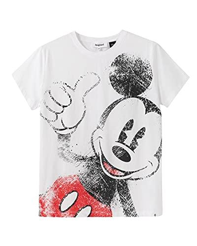 Desigual 21SWTKCZ T-Shirt Damen M