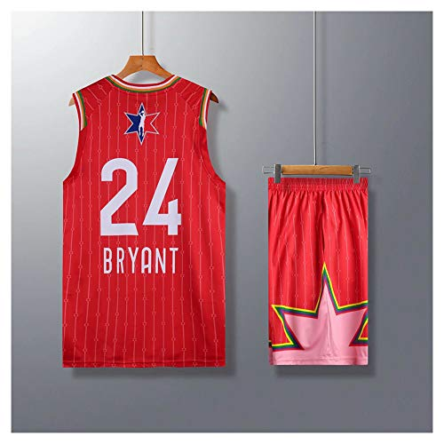 Bryant #24 All-Star Basketball Trikot für Herren College Basketball Trikot Tank Top Fan Kleidung Sportswear T-Shirt (L-5XL) XXL farbe
