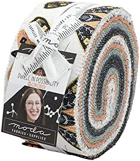 Dwell in Possibility Jelly Roll Moda 40 2.5 p Fabric shopping Strips Ranking TOP11 inch