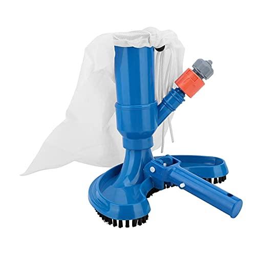 Fenteer Aspiradora de Piscina de Lujo, aspiradora subacuática portátil con cepillos de Limpieza, para Piscinas sobre el Suelo, Spas, estanques, Piscina