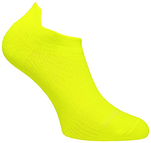 Wrightsock Profi Sportsocke Sneakers Low Tab Gr. S - anti-blasen - Farbe gelb