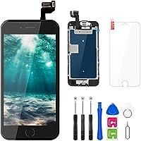 FLYLINKTECH Pantalla para iPhone 6s 4.7 '',Táctil LCD de Repuesto Ensamblaje de Marco Digitalizador con botón de...