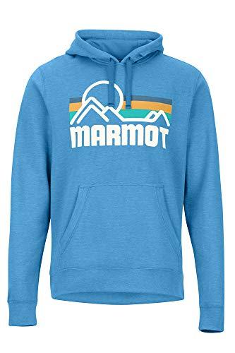 MARMOT Coastal Hoodie Varsity Blue Heather MD