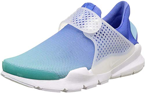 Nike Womens Sock Dart BR Running Casual Shoes, Blue, 5