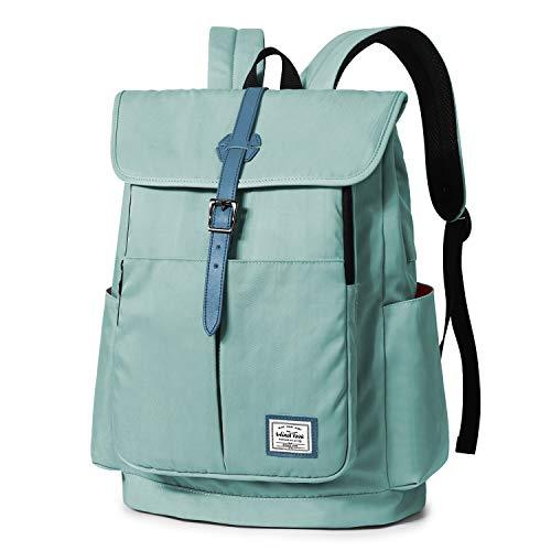 WindTook 15,6 Zoll Laptop Rucksack Backpack Daypack Schulrucksack Notebook Damen Herren mit USB Anschluss für Uni Arbeit Campus Freizeit, 31 x 16 x 41 cm, Türkis