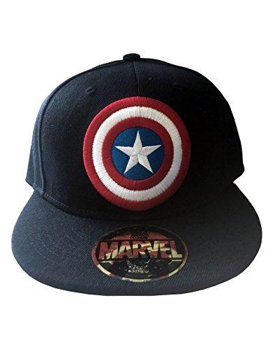 Captain America Shield Cap nouveau nouveau Bleu snapback Casquette de baseball