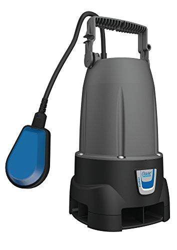 Oase 47748 ProMax MudDrain 6000 - Kleine Schmutzwassertauchpumpe zum Abpumpen von Wasserschächten, Wasserförderung bei 6000l/h nur 250W Energiebedarf
