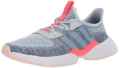 adidas Women's Mavia X Running Shoe, Sky Tint/Blue/Indigo, 8