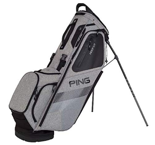 PING Hoofer Stand Golf Bag 2018 (Heather Grey/Black)